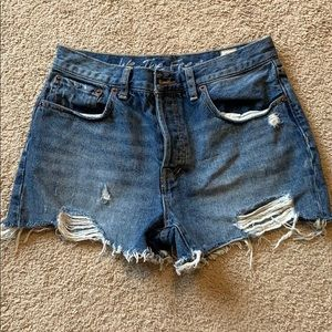 We the Free Jean shorts size 28